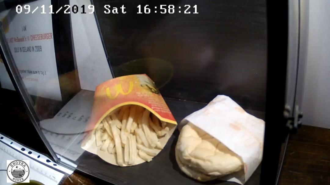 hamburguesa de mcdonalds islandia