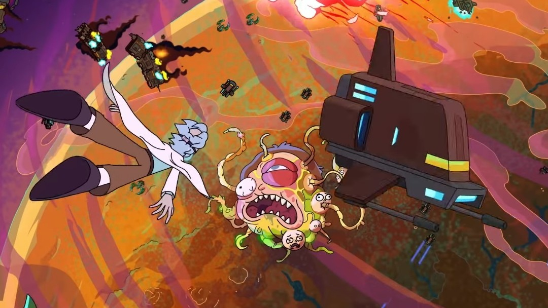 rick and morty opening