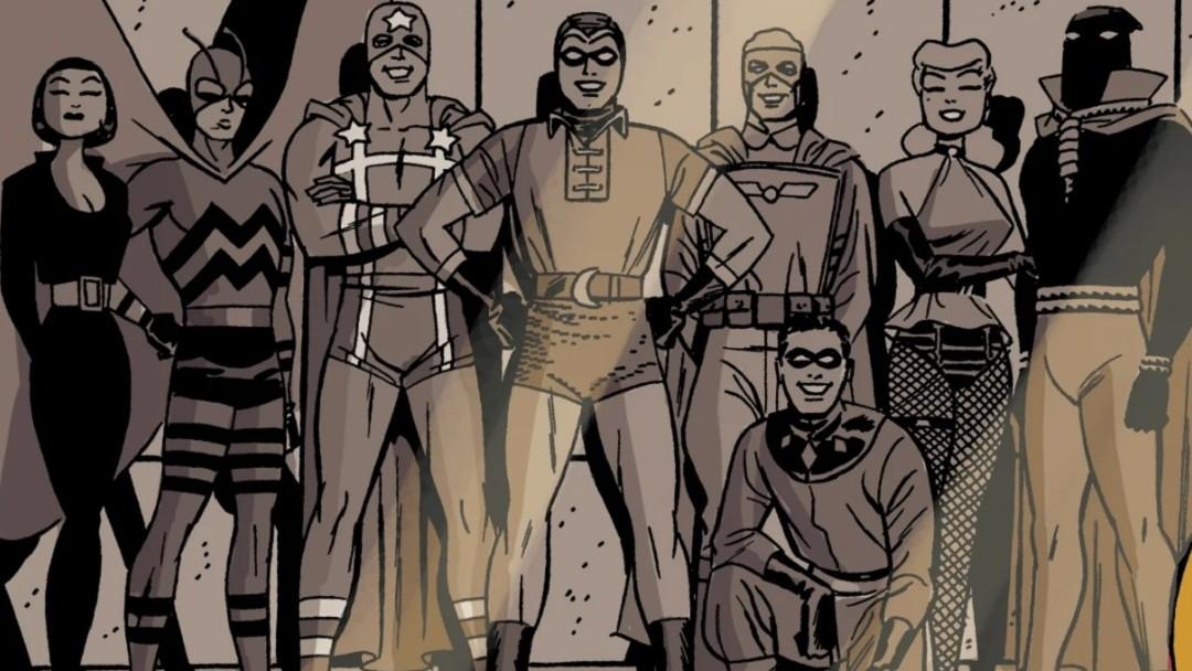 The Minutemen Serie Watchmen