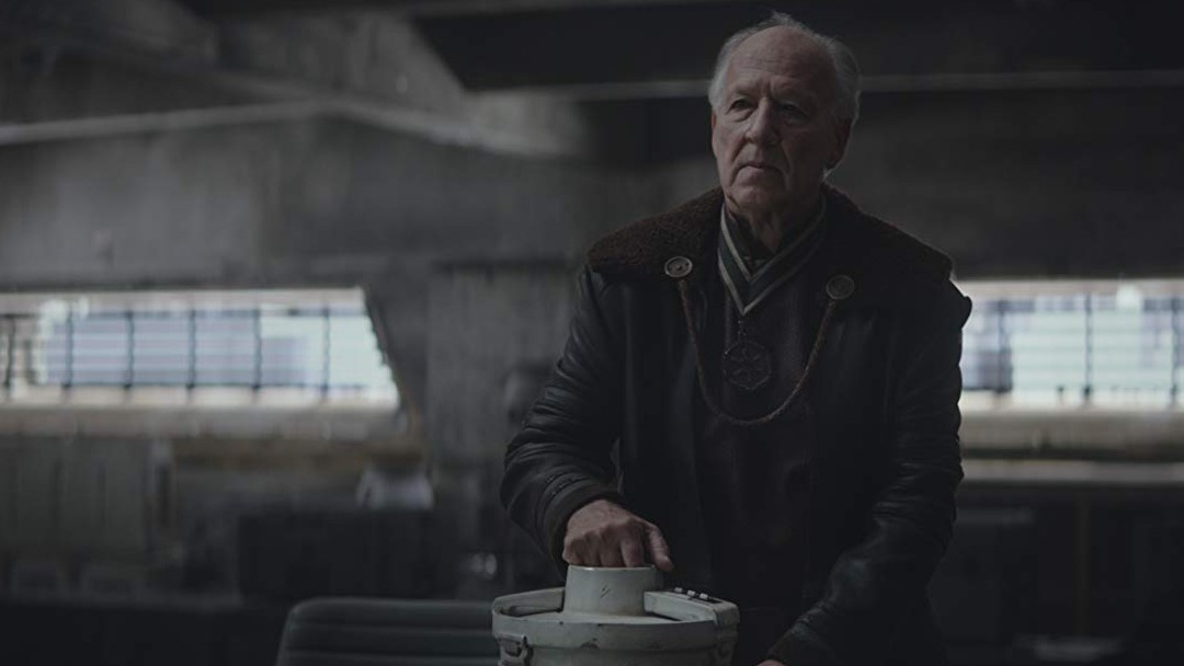 Werner Herzog The Mandalorian Baby Yoda