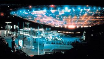 Escena de la película Encuentros Cercanos del Tercer Tipo