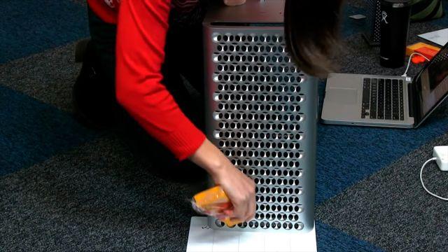 Mac Pro como rayador de queso