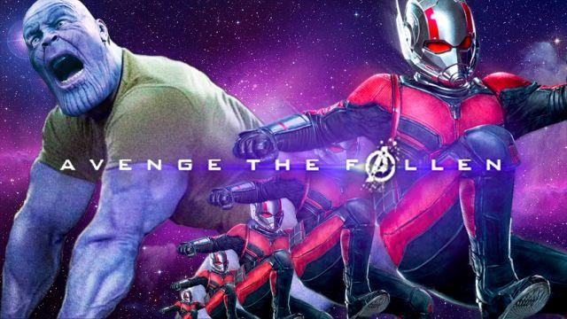 el trasero de Thanos con Antman