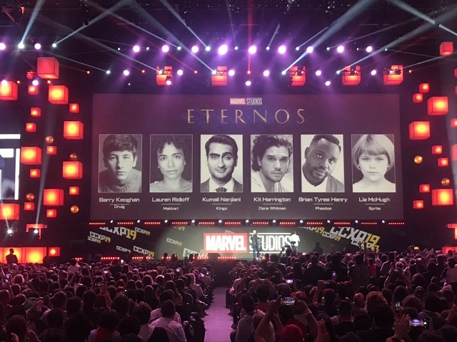 Primeras Imágenes The Eternals Comic Con Brasil