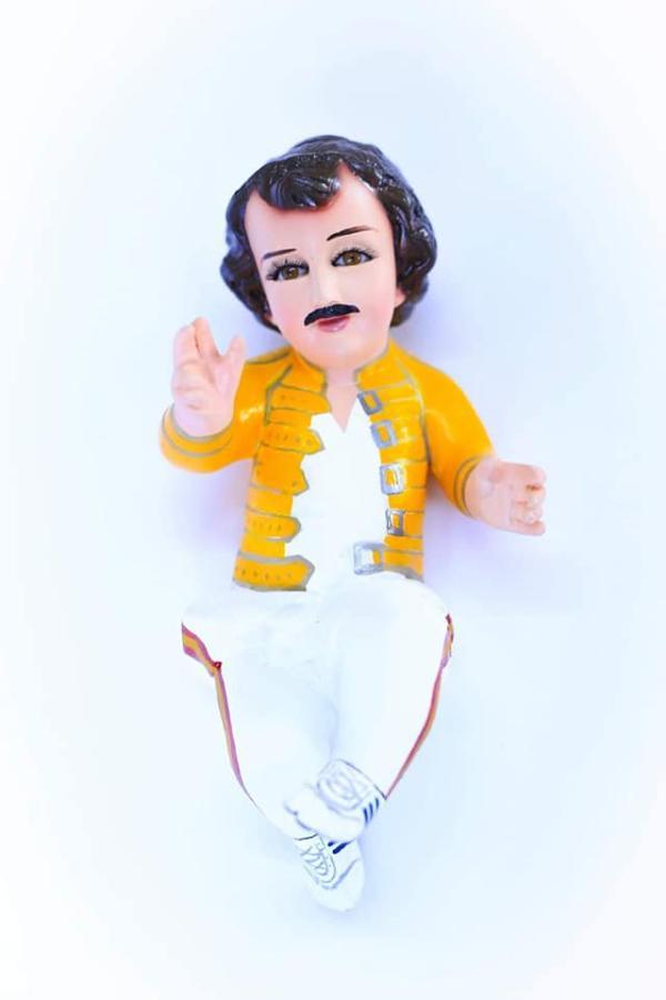 Niño Dios Freddy Mercury