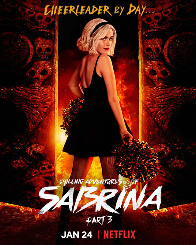 Chilling Adventures of Sabrina Póster