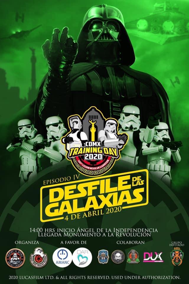 Desfile Star Wars CDMX (2)