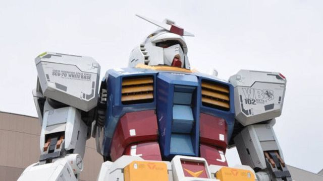 El Gundam de tamaño real