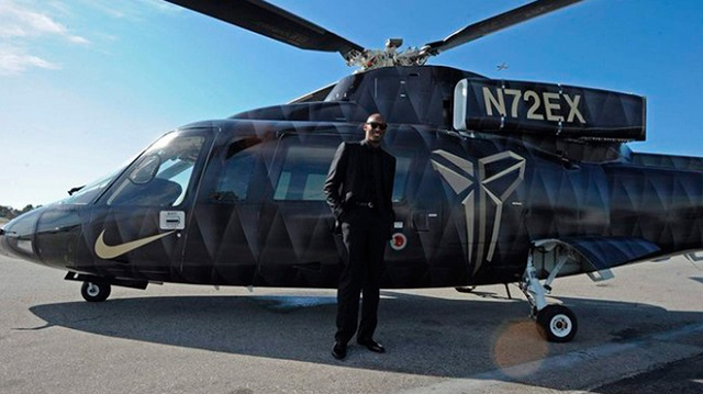 Helicoptero Kobe Bryant