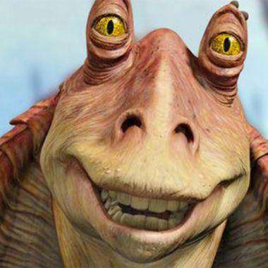 Jar Jar Binks, el personaje de Star Wars