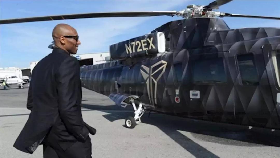 Kobe Bryant Hubschrauber