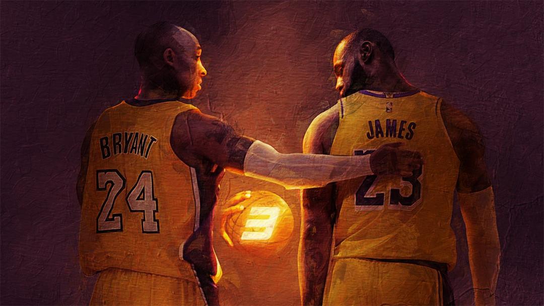 Kobe Bryant LeBron James Bosslogic