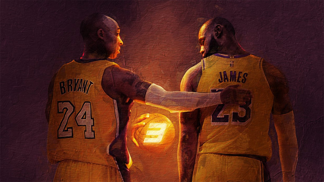 Kobe Bryant LeBron James Bosslogic