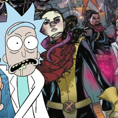 Rick and Morty X-Men