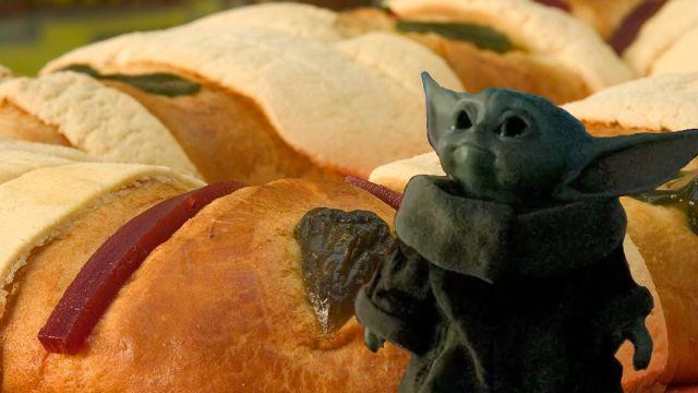 Rosca de Reyes Bebé Yoda
