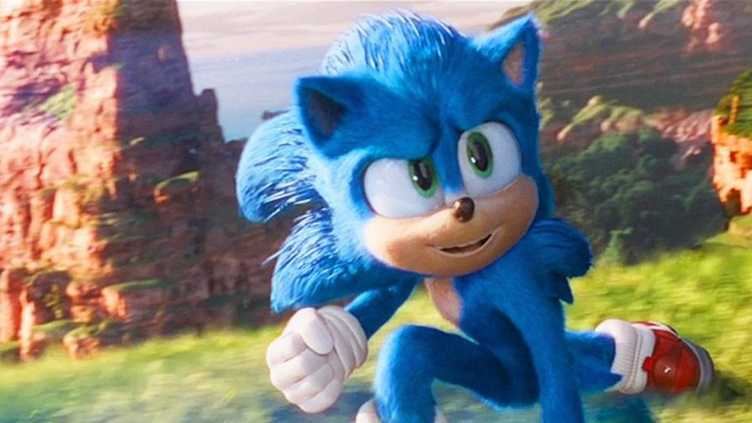 Sonic The Hedgehog Póster Película