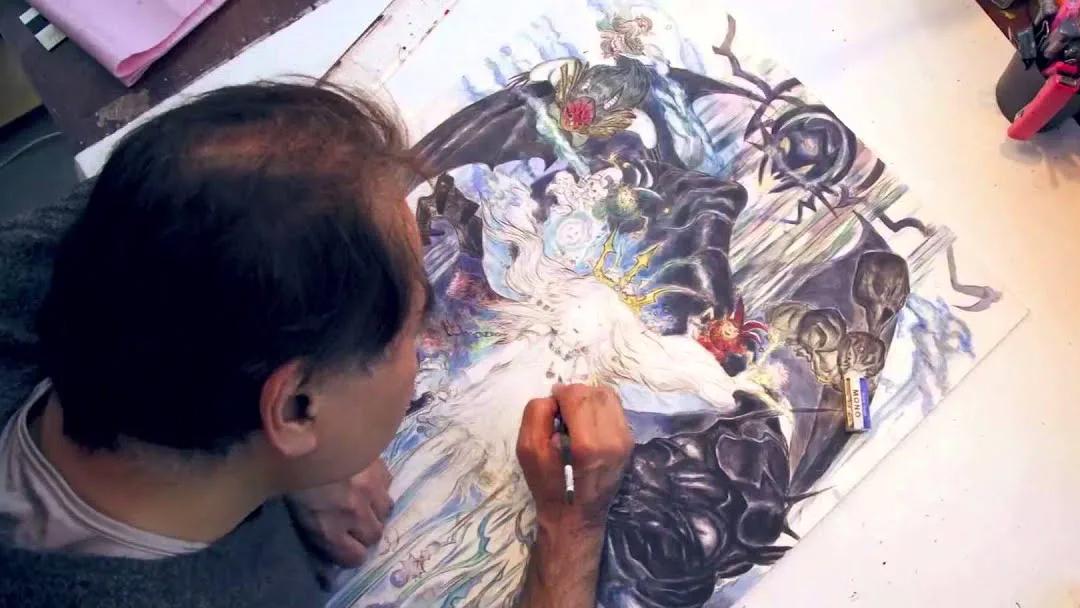 Yoshitaka Amano, dibujante e ilustrador japonés