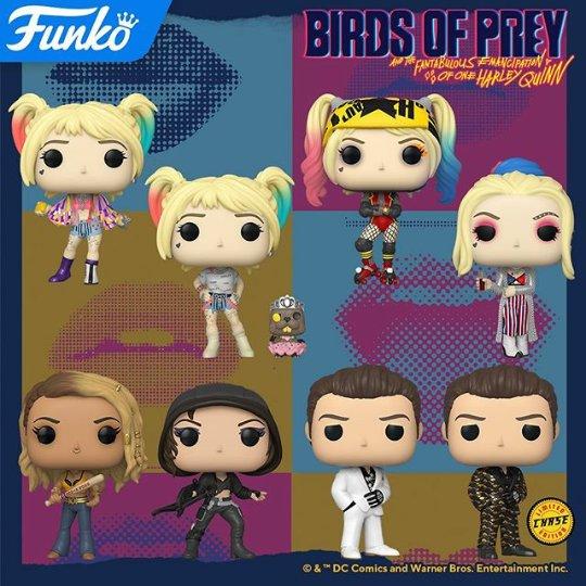 Birds of Prey Nuevas Funko