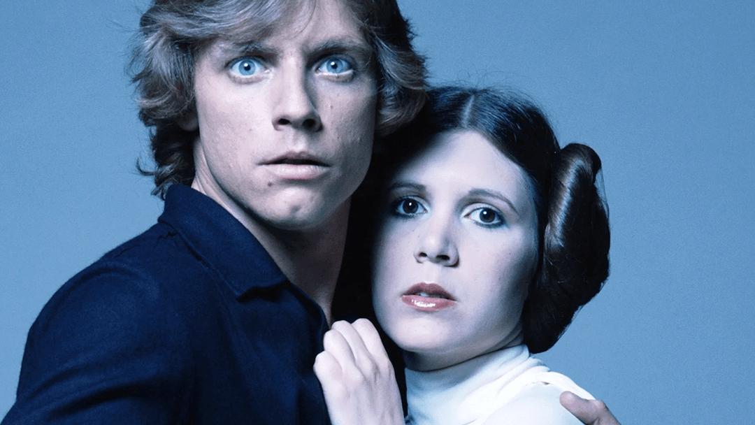 Luke y Leia, los hermanos de Star Wars