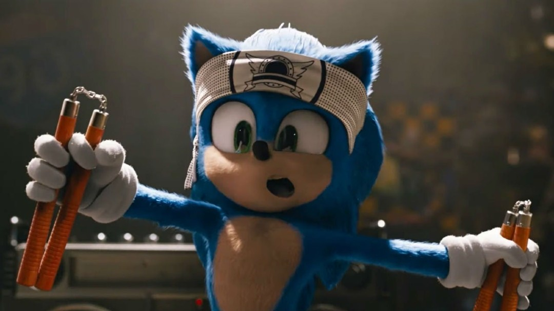 Sonic The Hedgehog póster