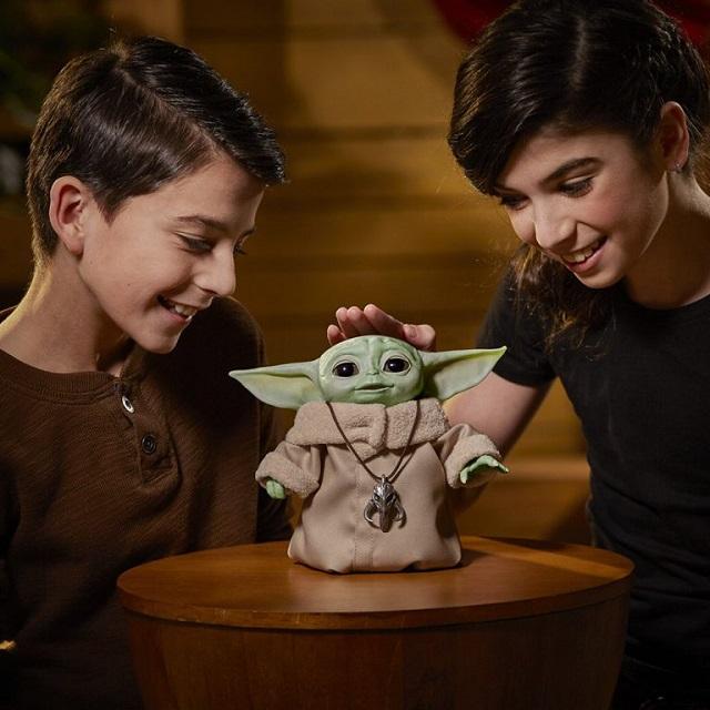 Baby Yoda Juguete Animatrónico