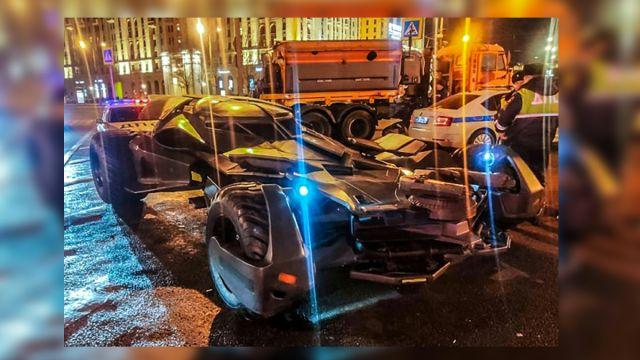 Batimóvil Policía Rusia