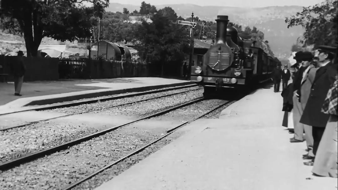 Remasterizan La llegada del tren 4k 60 fps