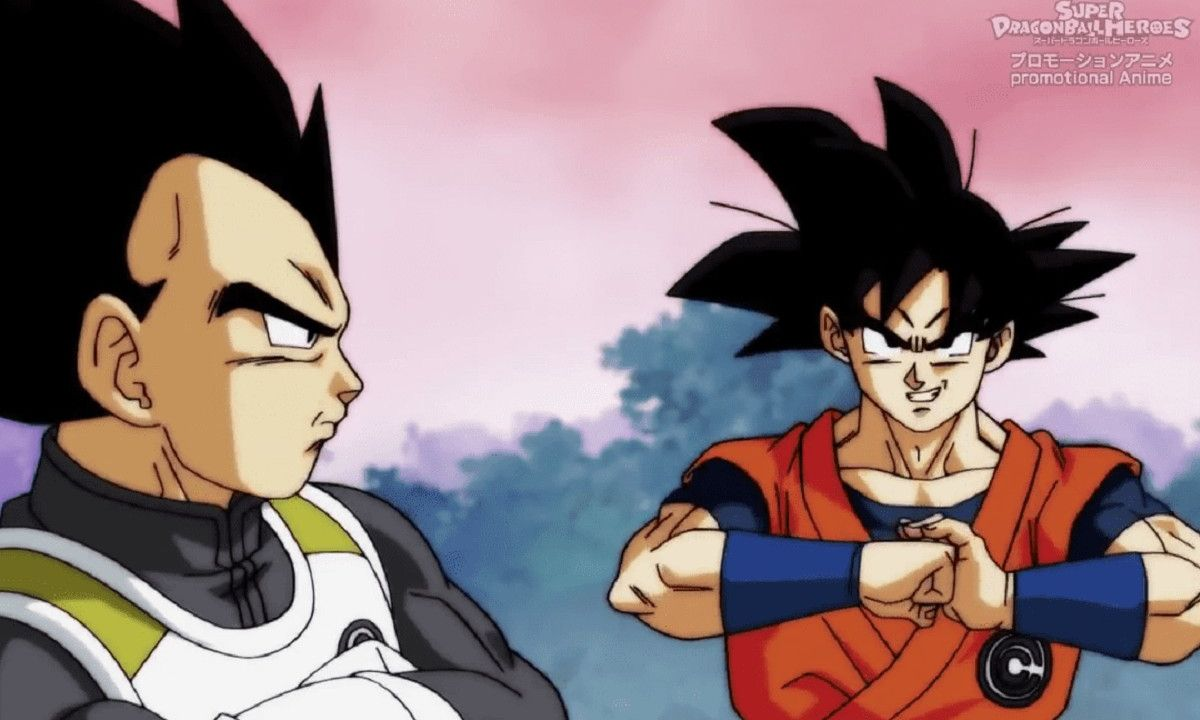 Goku Vegeta Dragon Ball Heroes