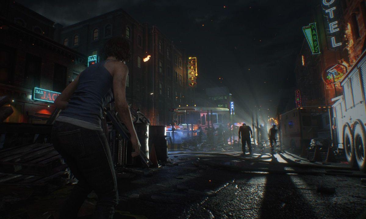 Resident Evil 3 Remake Gameplay