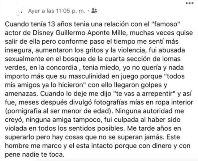 23/20/2020 Memo Aponte Acoso Violación