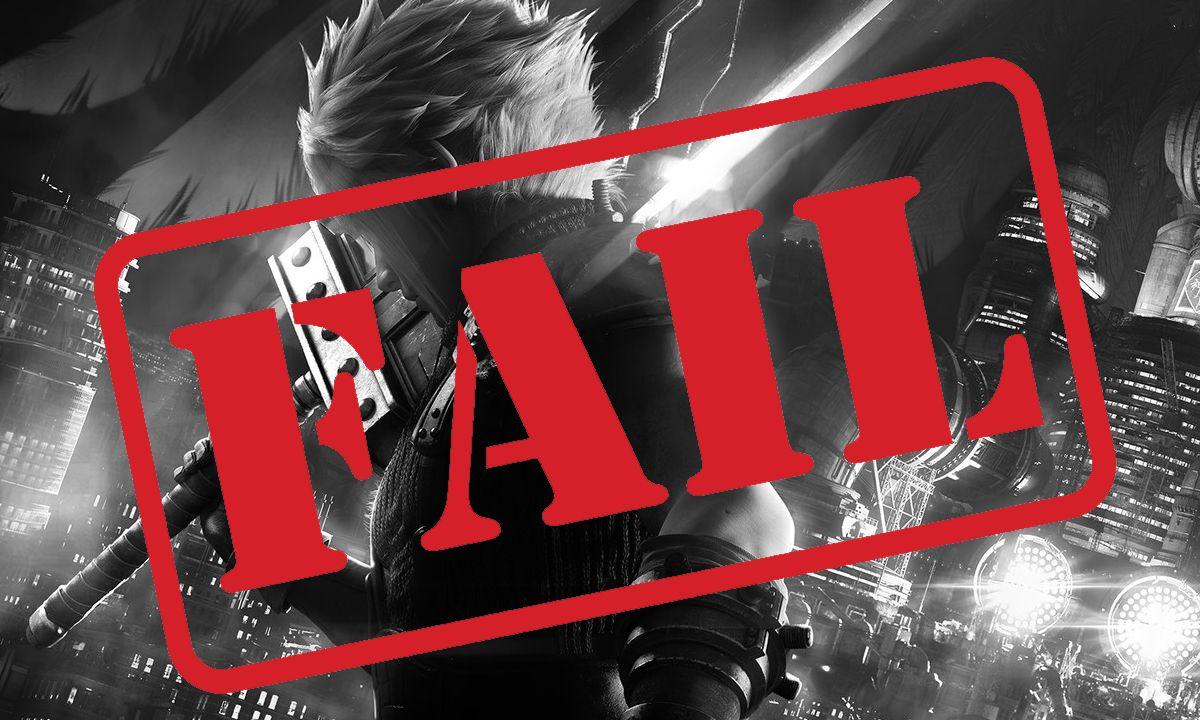 Final Fantasy VII Fail