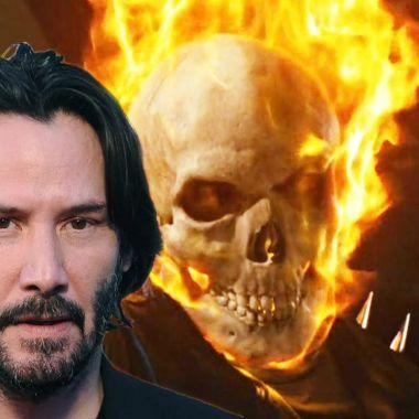 Keanu Reeves Ghost Rider Fanart