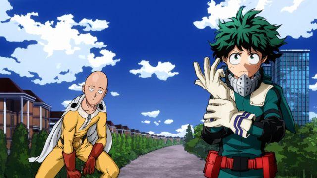 My Hero Academia One Punch Man