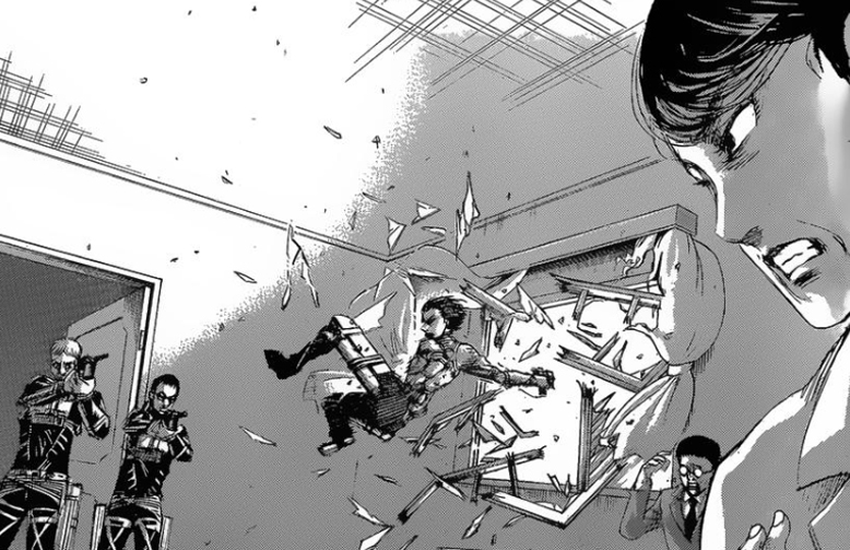 Attack On Titan, 128, Shingeki No Kyojin, Manga
