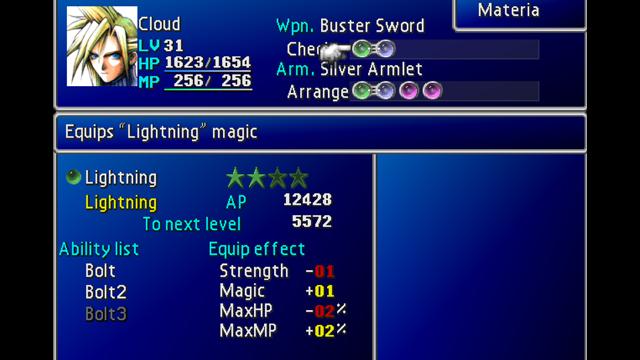 Final Fantasy, VII, PlayStation, Reseña