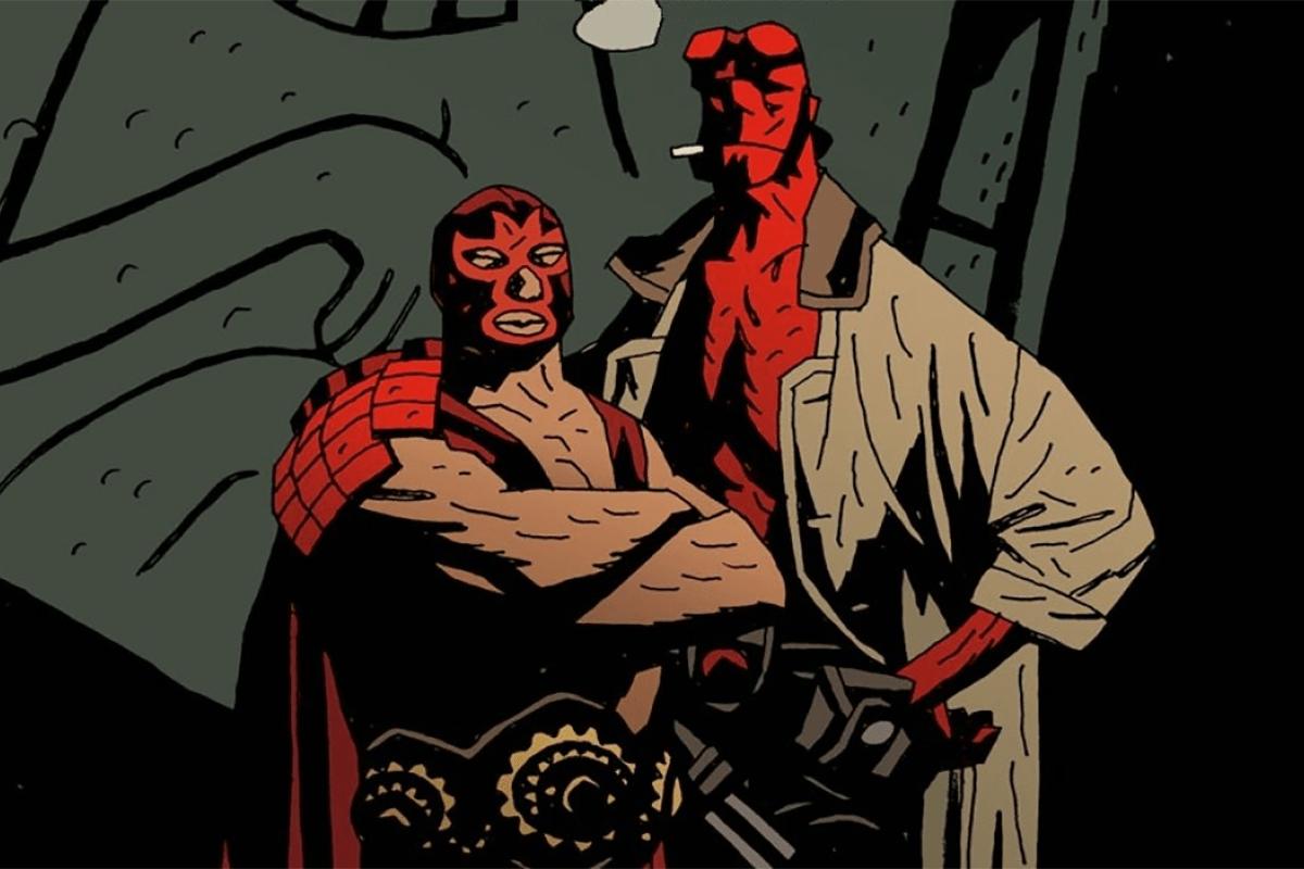 Hellboy luchador
