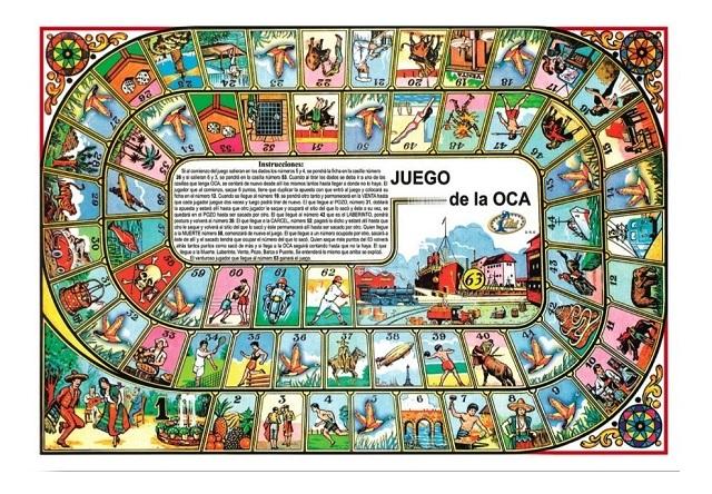 Historia Juego de la Oca