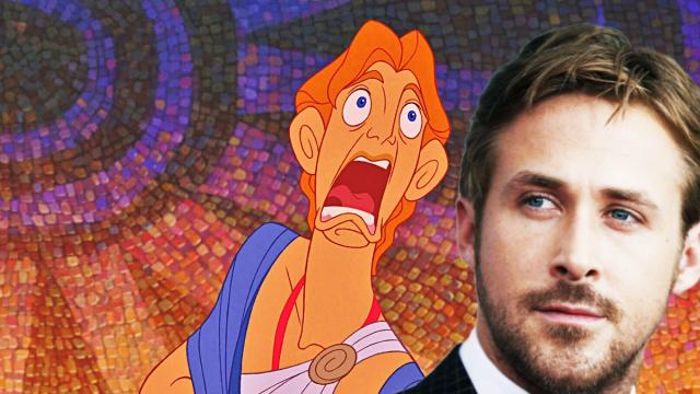 Ryan Gosling Live Action Hercules