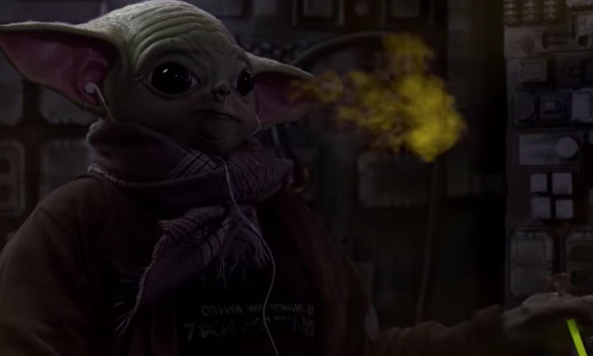 Teenagen Yoda Mandalorian