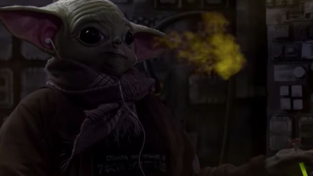 Teenagen Yoda Mandalorian