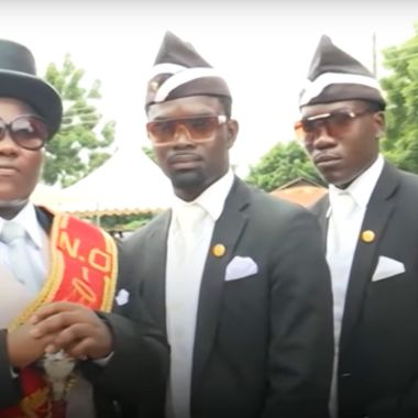 Enterradores senegaleses