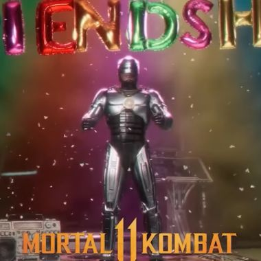 Robocop Friendship Mortal Kombat 11 Atermath