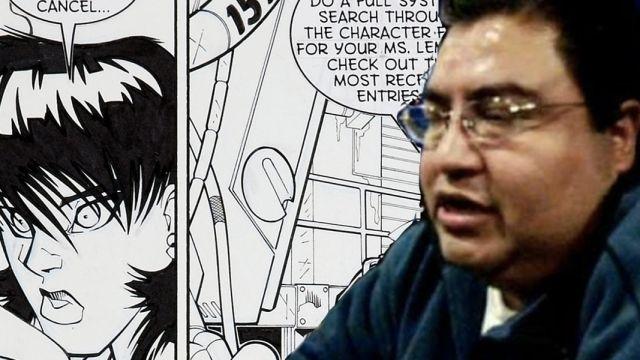 El entintador mexicano Juan Vlasco