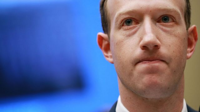 Mark Zuckerberg Donald Trump Censura