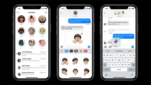 Apple Messages iOS 14