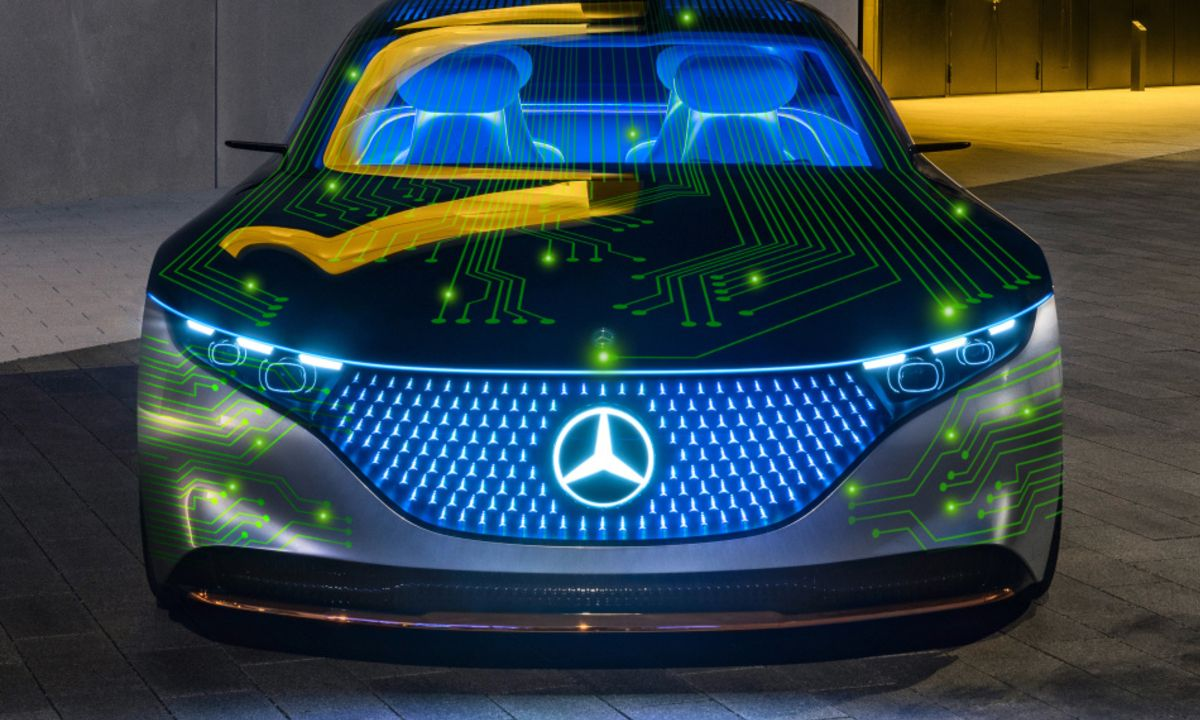 Mercedes Benz NVIDIA Autoconduccion