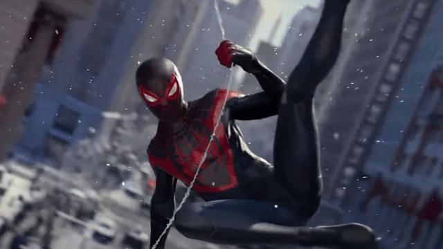 Milles Morales Spiderman videojuego