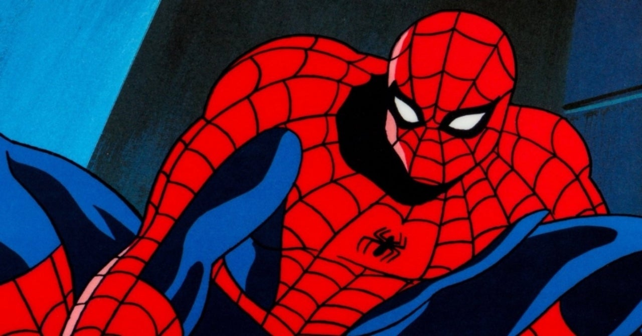 Spiderman The Animated Series Into The Spider Verse