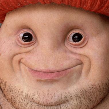 ilustración realista de Toad de Super Mario