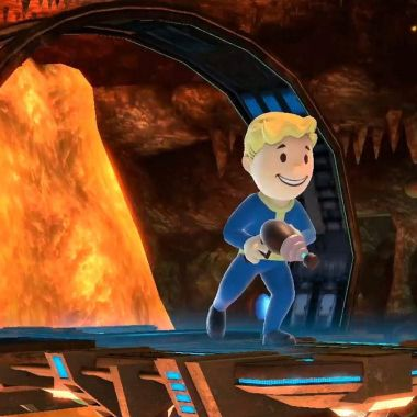 Vault Boy Super Smash Bros Disfraz Mii